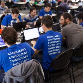 Okiok's expert in hacking competitions